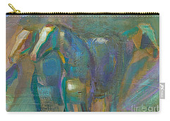 Colors Of The Southwest Carry-all Pouch by Frances Marino