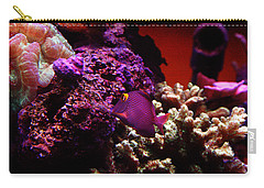 Colors Of Underwater Life Carry-all Pouch