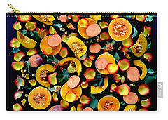 Colors Of Winter Squash Carry-all Pouch