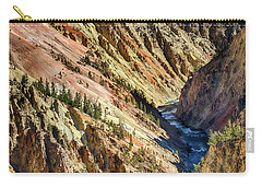 Colors Of Yellowstone Canyon Carry-all Pouch