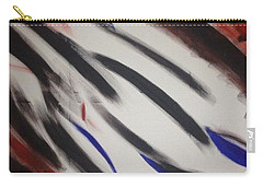 Carry-all Pouch featuring the painting Abstract Colors by Sheila Mcdonald