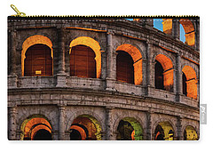 Colosseum In Rome, Italy Carry-all Pouch