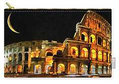 Colosseum Under The Moon Carry-all Pouch