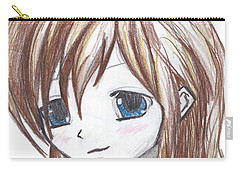 Coloured Anime Carry-all Pouch