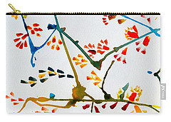 Colourful Blossoms Carry-all Pouch