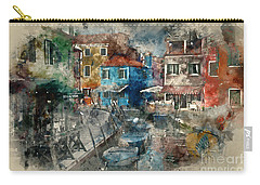 Colourful Burano Carry-all Pouch