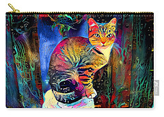 Colourful Calico Carry-all Pouch