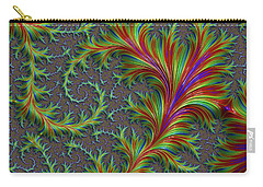 Colourful Fronds Carry-all Pouch