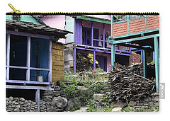 Colourful Houses Carry-all Pouch