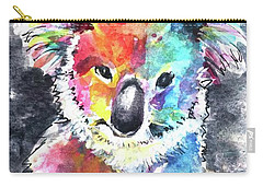 Colourful Koala Carry-all Pouch