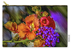 Carry-all Pouch featuring the mixed media Colourful Pb #h8 by Leif Sohlman