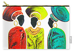 Colourful Trio - Original Artwork Carry-all Pouch