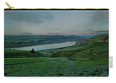 Carry-all Pouch featuring the photograph Columbia Gorge In Early Spring by Jeff Swan