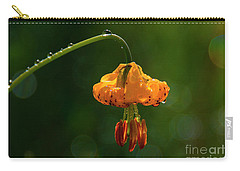 Columbia Lily With Dew Carry-all Pouch