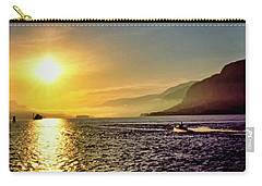 Columbia River 001 Carry-all Pouch by Scott McAllister