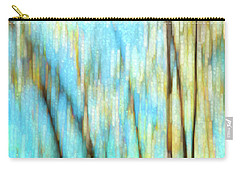 Columbia River Abstract Carry-all Pouch by Theresa Tahara