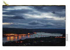 Carry-all Pouch featuring the photograph Columbia River by Cat Connor