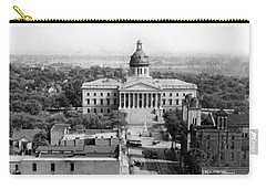 Columbia South Carolina - State Capitol Building - C 1905 Carry-all Pouch