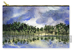 Columbian Shoreline Carry-all Pouch by Randy Sprout
