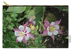 Columbine Carry-all Pouch by Catherine Gagne
