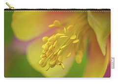 Carry-all Pouch featuring the photograph Columbine by Greg Nyquist