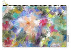 Columbine In The Wildflowers Carry-all Pouch by Frances Marino