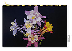 Carry-all Pouch featuring the photograph Columbine Medley by Gary Lengyel