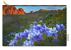 Columbine Sunrise Carry-all Pouch