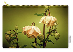 Columbines In Summer Carry-all Pouch by Skip Tribby