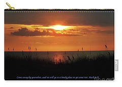 Come Away With Me  Carry-all Pouch by Christy Ricafrente