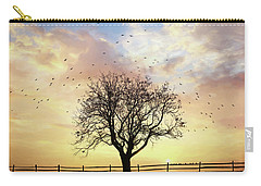 Carry-all Pouch featuring the photograph Come Fly Away by Lori Deiter