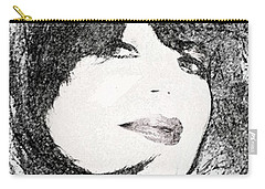 Come Hither Look Carry-all Pouch by Ellen O'Reilly