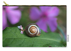 Come Out Of Your Shell Carry-all Pouch by Susan Dimitrakopoulos