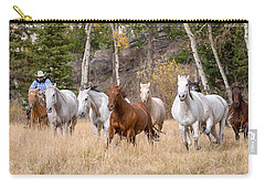 Come Running Carry-all Pouch by Jack Bell
