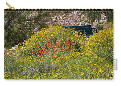 Come Sit Awhile Carry-all Pouch by Anne Rodkin
