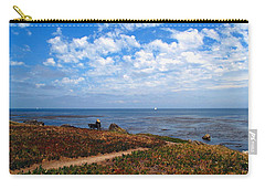 Carry-all Pouch featuring the photograph Come Sit With Me by Joyce Dickens