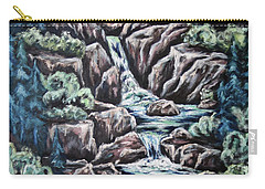 Come Walk With Me 2 Carry-all Pouch by Cheryl Pettigrew