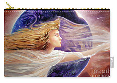 Comet Dreamer Voyage  Carry-all Pouch by Michael Rock