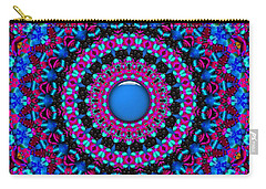 Carry-all Pouch featuring the digital art Comfort Zone by Robert Orinski