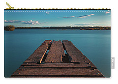 Carry-all Pouch featuring the photograph Comfortably Numb by Davor Zerjav