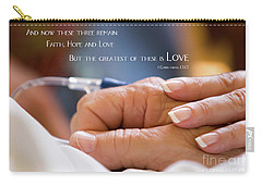 Comforting Hand Of Love Carry-all Pouch