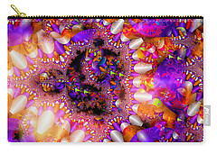 Carry-all Pouch featuring the digital art Coming Home by Robert Orinski