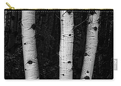Carry-all Pouch featuring the photograph Coming Out Of Darkness by James BO Insogna