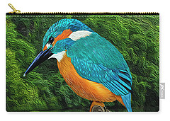 Common Blue Kingfisher Carry-all Pouch