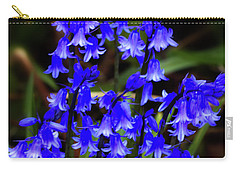 Common Bluebell Carry-all Pouch by Stephen Melia