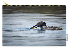 Common Loon Carry-all Pouch by Bill Wakeley