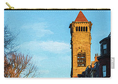 Commonwealth Avenue In Boston Carry-all Pouch