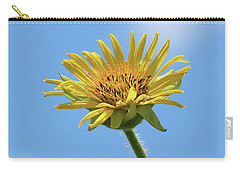 Compass Plant Carry-all Pouch by Anita Oakley