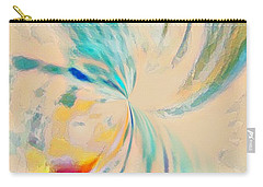Carry-all Pouch featuring the mixed media Compassion by Jessica Eli