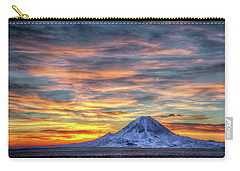 Complicated Sunrise Carry-all Pouch by Fiskr Larsen